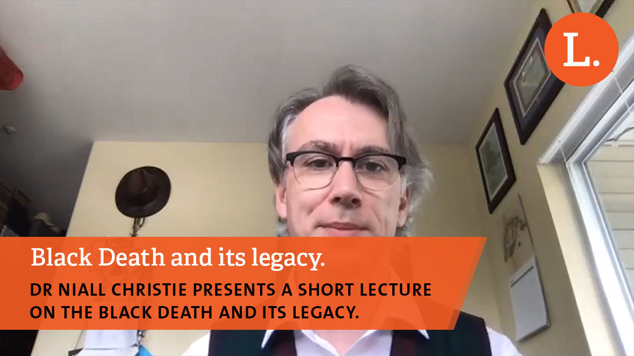 Black Death and its legacy. Lecture