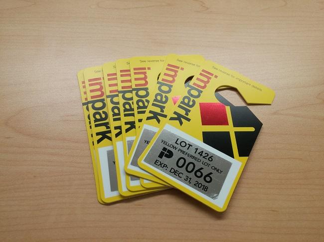 Yellow Preferred Lot Passes